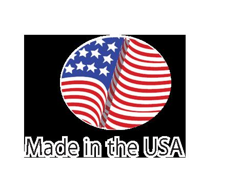 Witt Custom Logo Commercial Trash Can Made in USA Logo